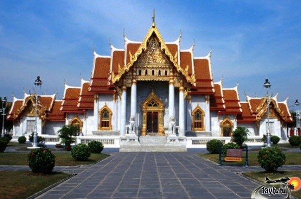 Достопримечательности Бангкока.Ват Бентямабопхит.Wat Benchamabophit. Мраморный храм