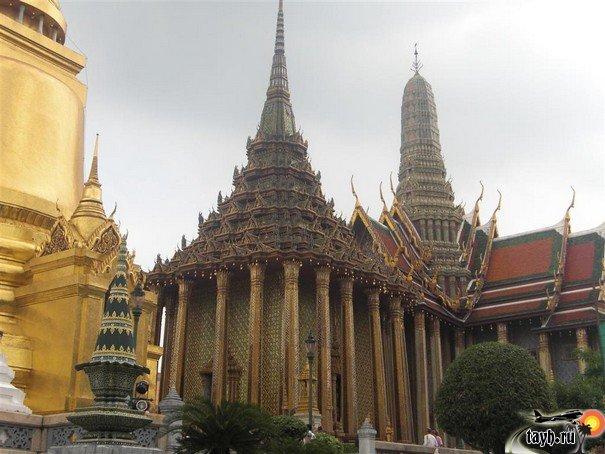 Достопримечательности Бангкока.Храм Изумрудного Будды.Wat Phra Keo.Бангкок