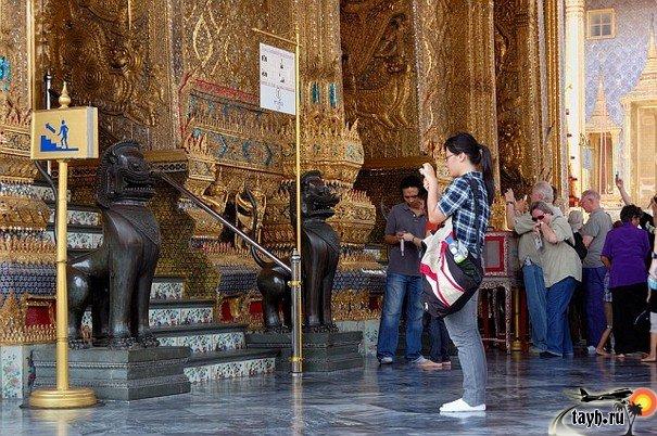 Достопримечательности Бангкока.Храм Изумрудного Будды.Wat Phra Keo