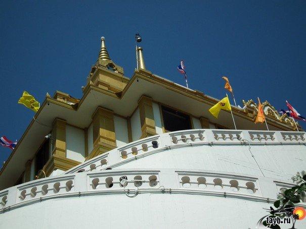Достопримечательности Бангкока.Ват Сакет .Wat Saket.