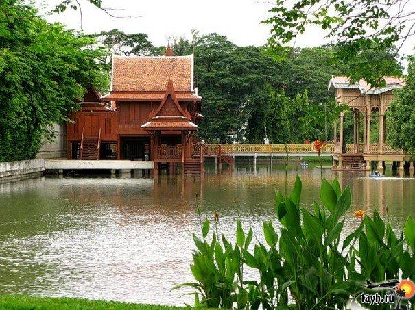 Достопримечательности Бангкока.Дворец Виманмек.Vimanmek Mansion.Бангкок .Тайланд