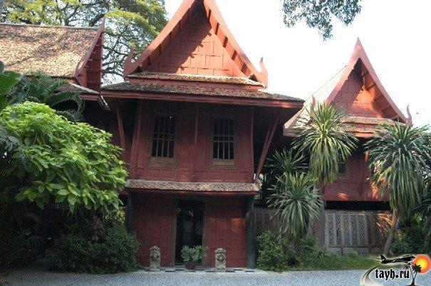 Достопримечательности Бангкока.Дом Джима Томпсона .Jim Thompson's House. Бангкок. Что посмотреть в Бангкоке