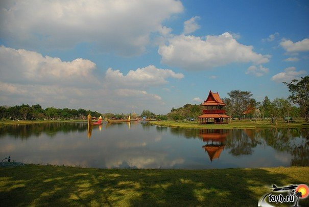 Мыанг Боран.Древний город.Ancient City.Бангкок. Тайланд