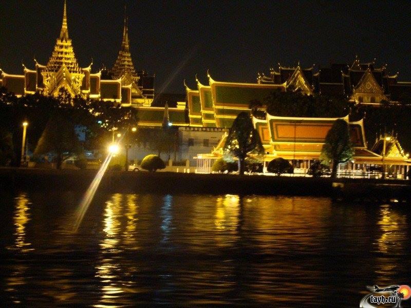 Достопримечательности Бангкока.Круиз по реке Чао Прайя.Chao Phraya Princess Dinner Cruise