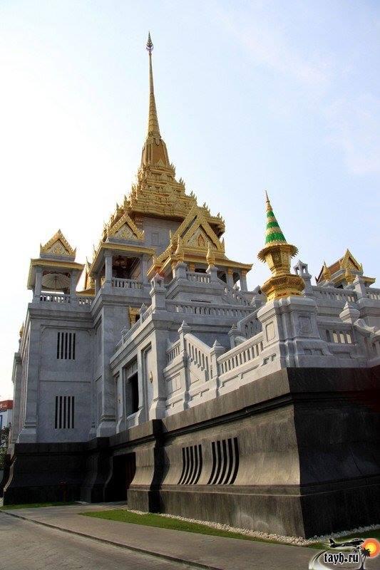 Достопримечательности Бангкока.Храм Золотого Будды .Golden Buddha Temple.Wat Trai Mit.