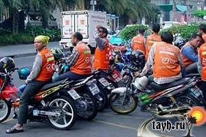 мото такси Бангкок