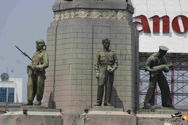 Монумент Победы. Бангкок