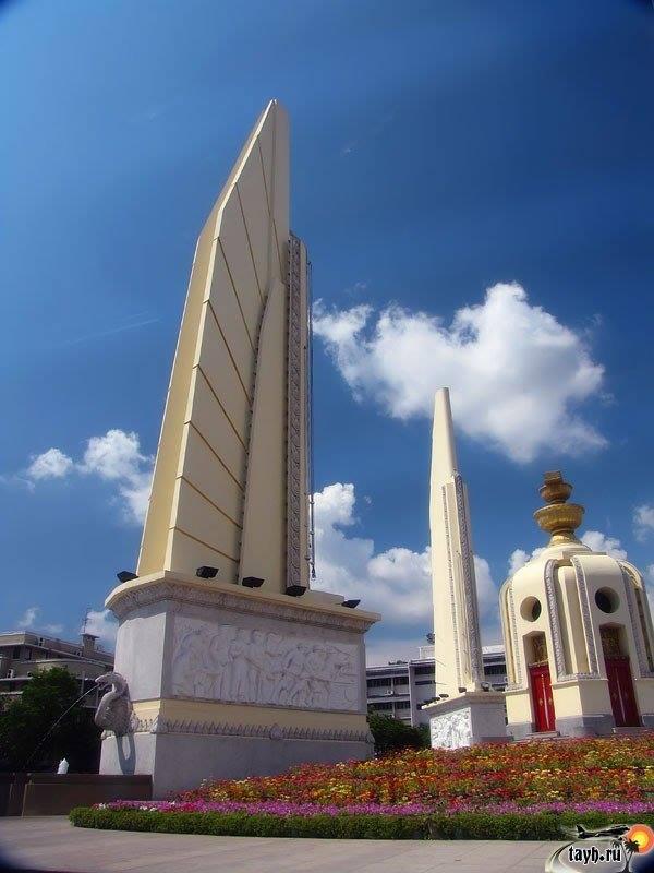 Монумент Демократии.Бангкок