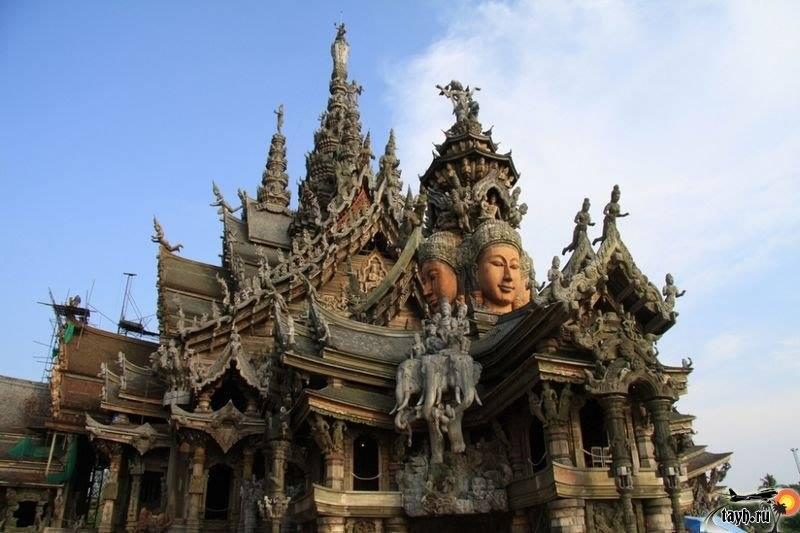 храм истины,Ванг Боран,Wang Boran.Паттайя