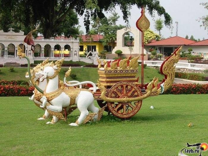 Мини сиам, Mini Siam, Паттайя, Тайланд, достопримечательности Паттайи, ,что посмотреть в Паттае, парк мини сиам на карте