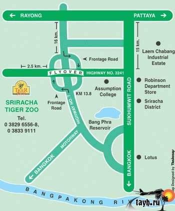 �������� �������.Sriracha Tiger Zoo.�������
