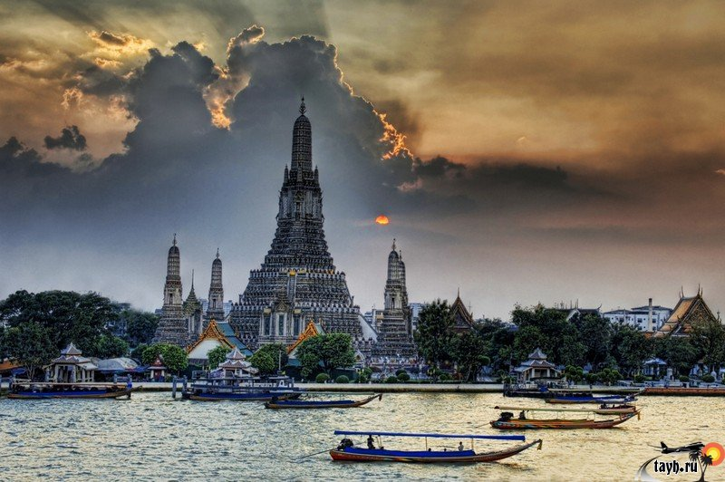 Ват Арун.Wat Arun.Бангкок