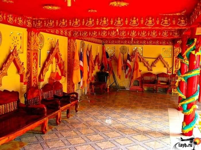 Достопримечательности Пхукета.Wat Phra Nang Sang.Пхукет. Тайланд
