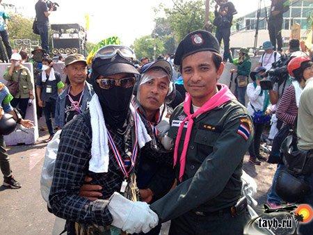 протесты в Бангкоке