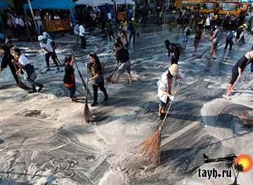 уборка Бангкока
