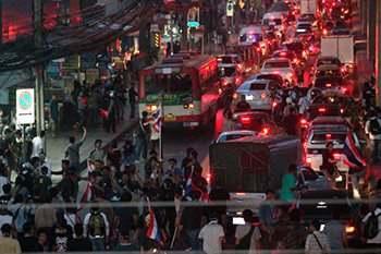 митинг в Тайланде