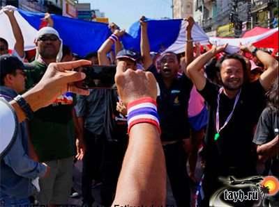 протесты на Пхукете