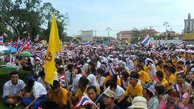 беспорядки Тайланд