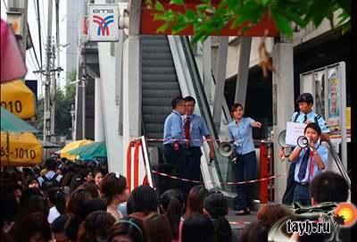 неисправность в метро Бангкок