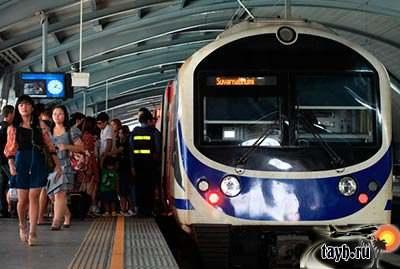Поезд Суварнапхуми- Бангкок