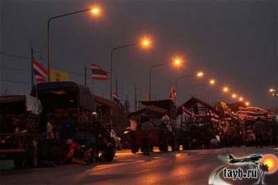 рисовые протесты в Бангкоке