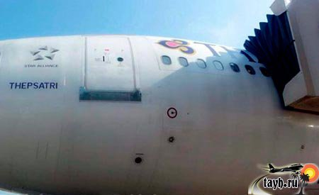 самолёт тайских авиалиний