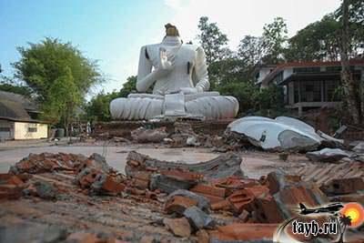 фото землетрясения в Тайланде