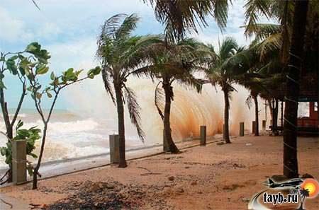 шторм Тайланд
