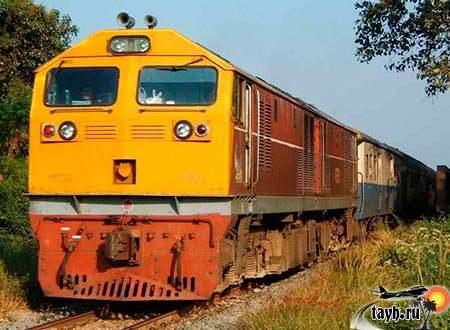 поезда в Тайланде