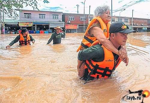 Тайланд наводнение