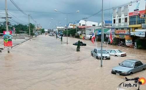 наводнение Тайланд