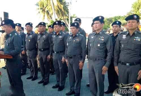 полиция в Паттайе