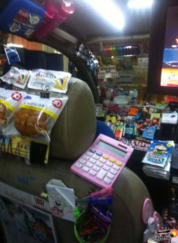 Забавное такси в Бангкоке