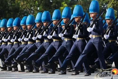 парад в Тайланде