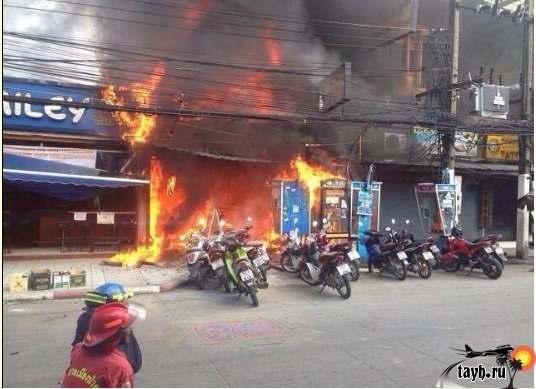 пожар на Пхукете