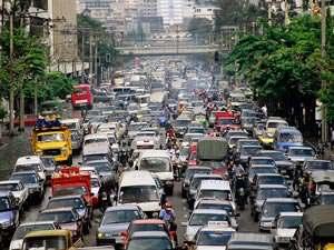 Транспорт Бангкока. Автобусы. Такси. Метро. Тук-тук