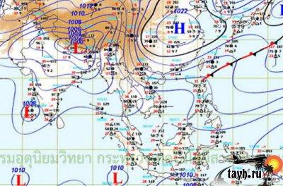 погода Тайланд