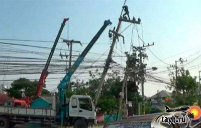 шторм в Таиланде
