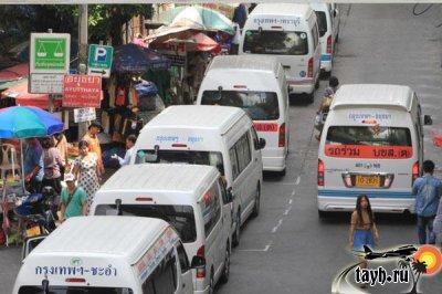 Бангкок автобусы
