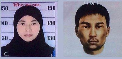 подозреваемые во взрыве в Бангкоке