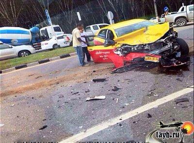 Пхукет авария с такси