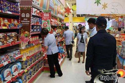 магазин в Тайланде