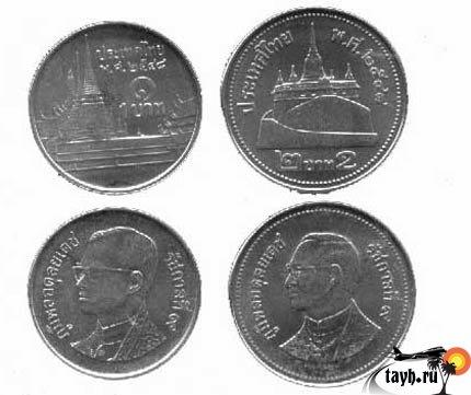 1 бат 1 рубль