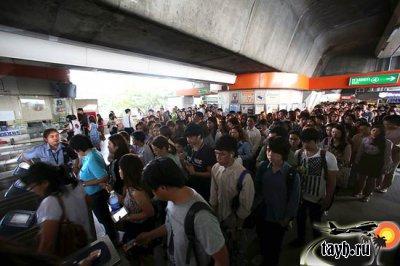 Неисправность в метро Бангкока