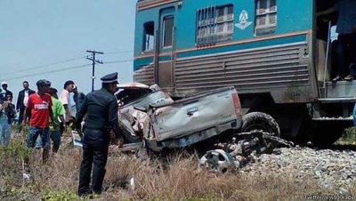 авария поезда