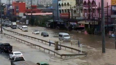 дожди в Паттайе