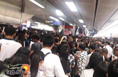 подземное метро Бангкок