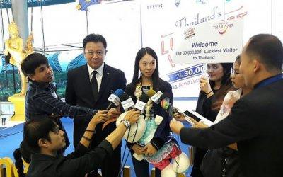 30 млн. туристка в Таиланде