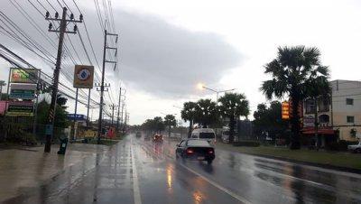 Дожди на юге Таиланда будут идти до послезавтра