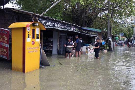 Наводнение на Ко Липе